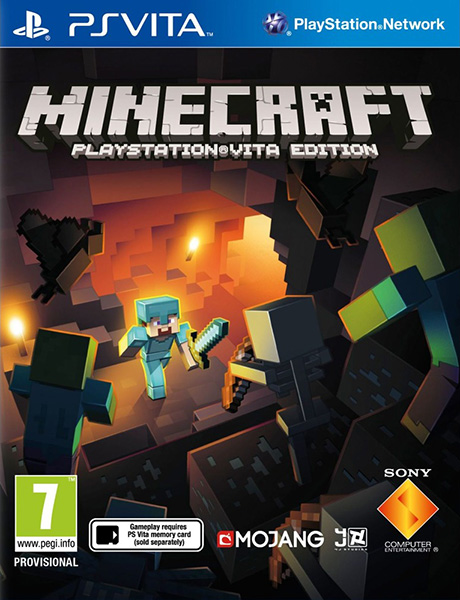 Minecraft: PlayStation Vita Edition + DLC