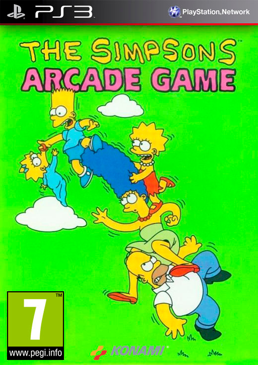 The Simpsons: Arcade Game